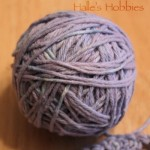 Cabbage dyed yarn