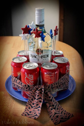 "Rum and Coke ""cake"" – Halle's Hobbies"