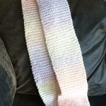 Scarf in pastel