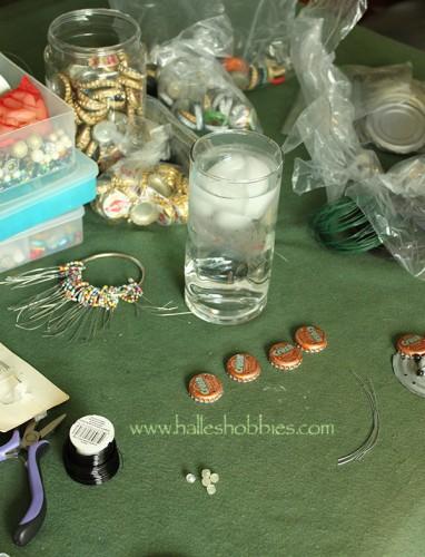 WIP bottlecaps