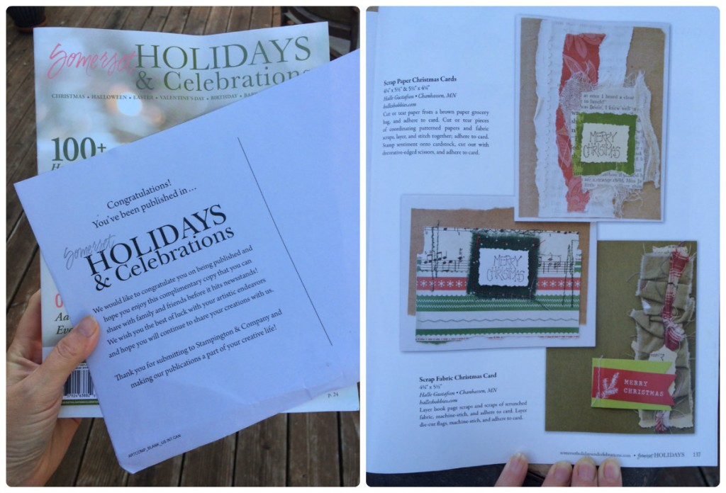 I've been published again! Somerset Holidays & Celebrations |Halle's Hobbies