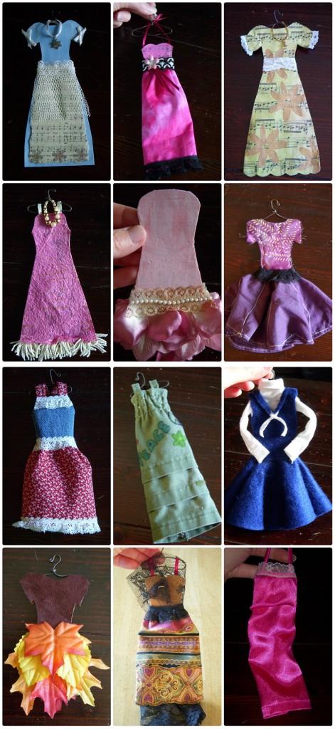 full year of dresses   Halle's Hobbies