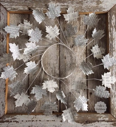 wire wreath | Halle's Hobbies