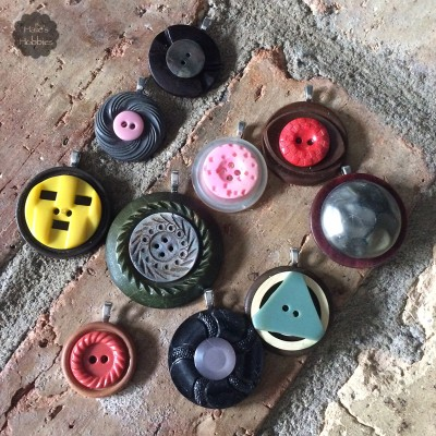 button pendants