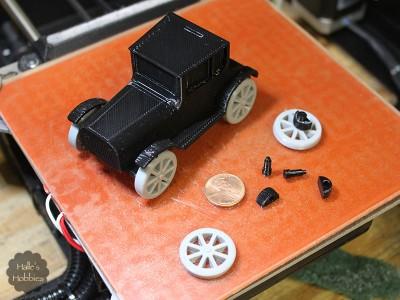 3D printed Model T