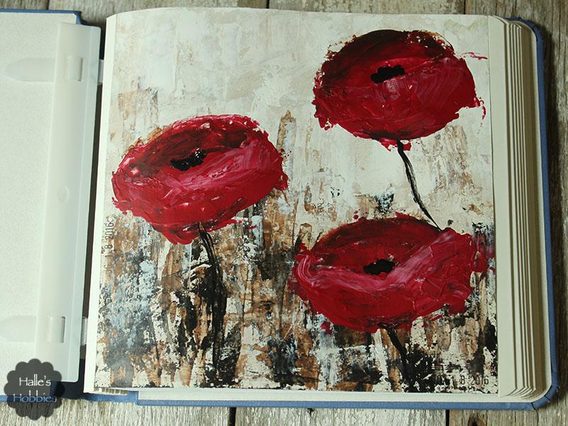 Impressionist Poppies