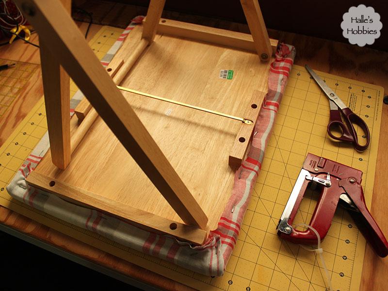 DIY workstation ironing board