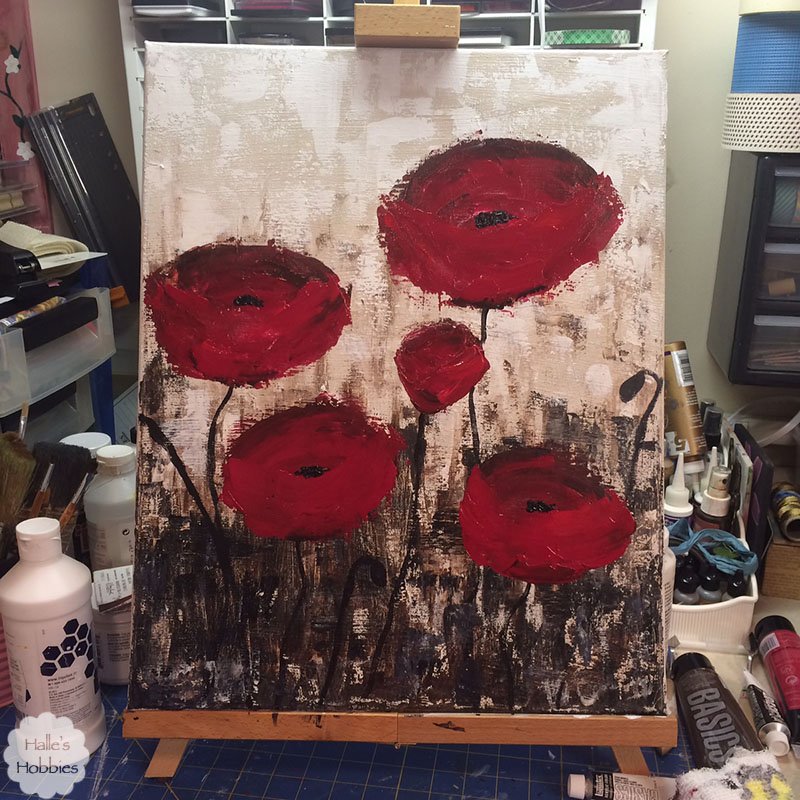 T Tuesday: painted poppies edition
