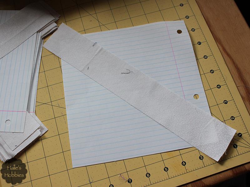 scrap quilt progress
