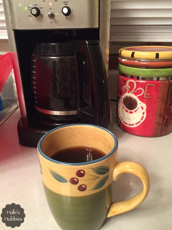 dark coffee or coffee in the dark