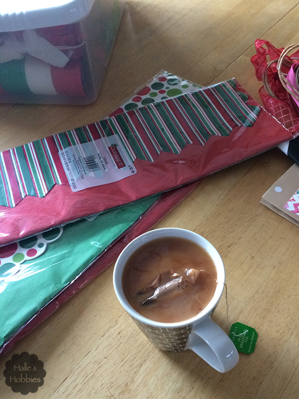 tea for wrapping duty