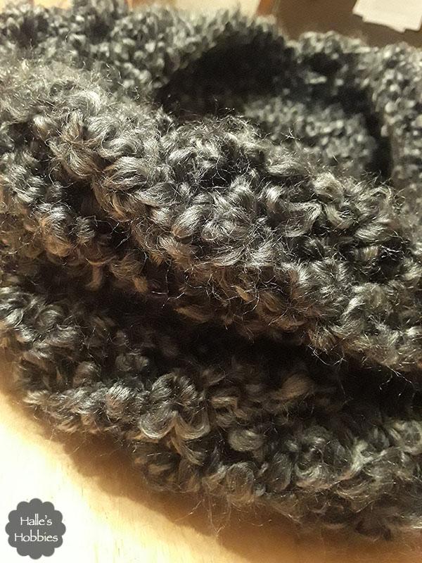 loom knit cowl